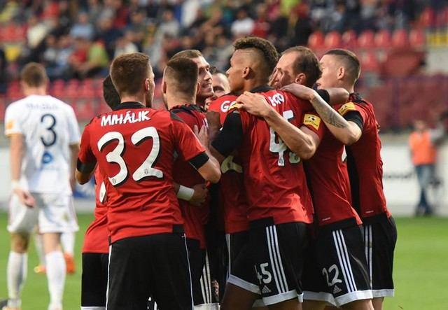 Spartak vyhral aj v Ružomberku a bez straty bodu vedie ligovú tabuľku