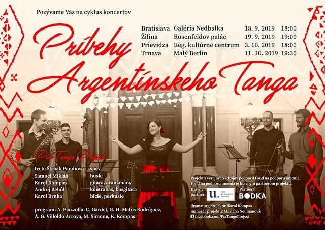 Malý Berlín venuje piatkový večer argentínskemu tangu