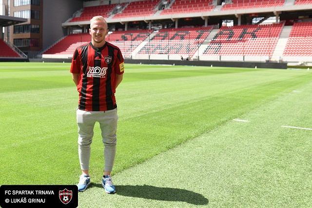 Spartak získal ďalšiu slovenskú posilu, andelom sa upísal Tomáš Brigant