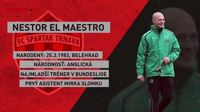 Definitíva: Novým trénerom Spartaka sa stane Nestor El Maestro