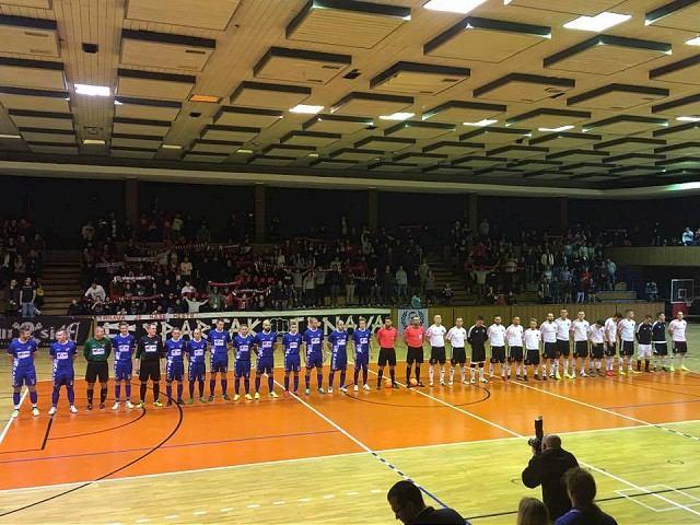 Futsalový zápas s Ostravou sledovalo viac ako tisíc divákov, zisk venovali na dobrú vec