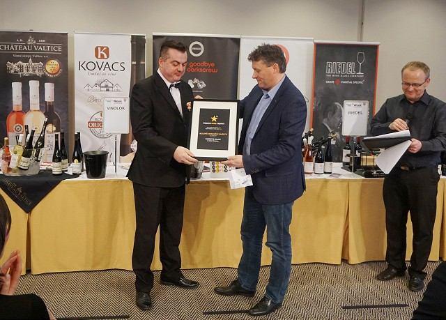Na vinárskom festivale v Prahe naplno zabodoval Golguz z Hlohovca