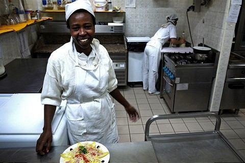 Viera cez žalúdok: Aj v reštaurácii sa dá šíriť posolstvo cirkvi