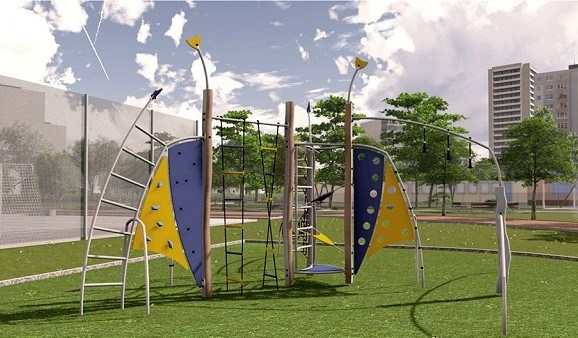 Na Linčianskej začali s výstavbou veľkého detského ihriska