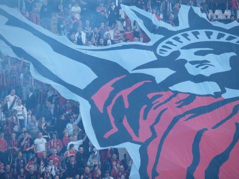 Fans Spartaka vykúpili sektor hostí na zápas v Zlatých Moravciach
