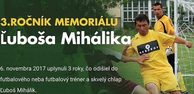 V Piešťanoch si pripomenú futbalovým turnajom Ľuboša Mihálika