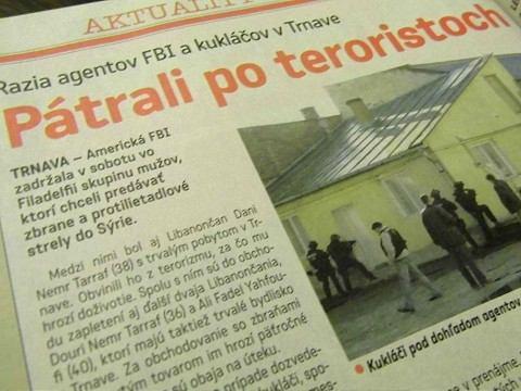 Písali sme pred piatimi rokmi: Agenti FBI hľadali v Trnave stopy po teroristoch