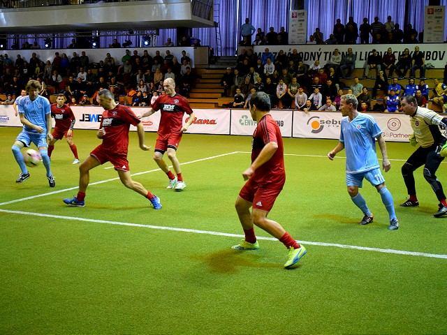 FOTO: Nič si nedarovali! Na turnaji futbalových osobností kraľovala pražská Slavia
