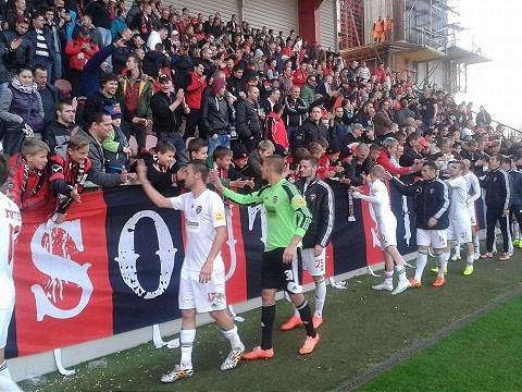 Spartak vyhral v derby, Slovanu nadelil štvorgólový prídel