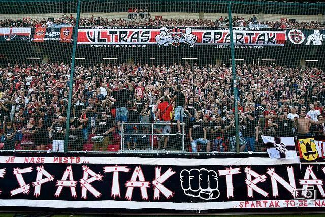 Derby so Slovanom bude bez aktívnej účasti ultras Spartaka