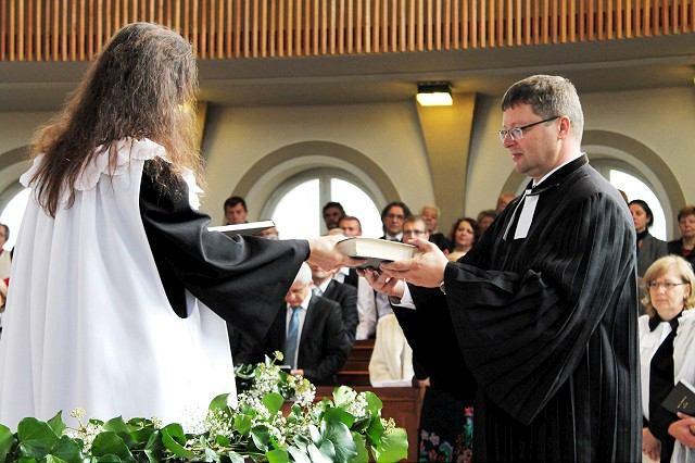 Trnavskí evanjelici majú nového farára, privítanie mal emotívne
