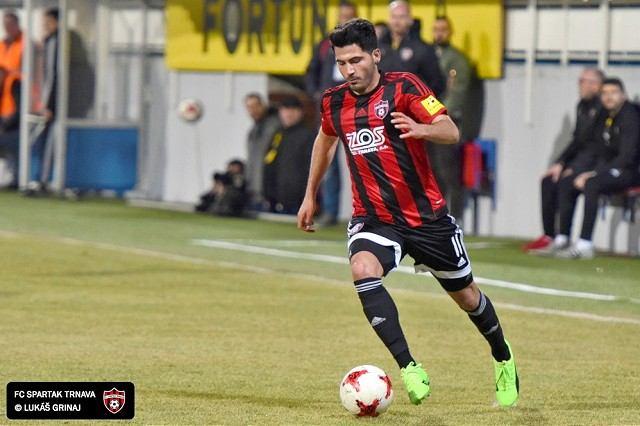 Spartak vyhral v Podbrezovej, hlavou rozhodol Yilmaz