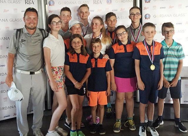 Trnavské golfové nádeje v Skalici nesklamali, brali medailové pozície