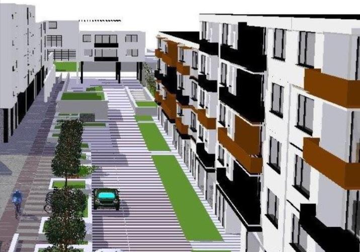V centre Piešťan chce investor postaviť obytný súbor Brečtanova alej