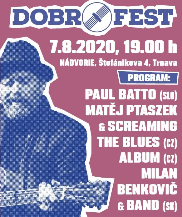 Festival Malý Dobrofest bude na Nádvorí už tento piatok