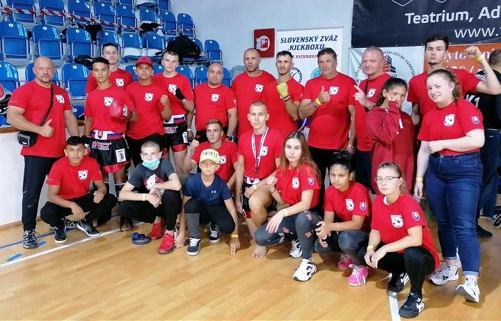 CBŠ Perún Gym sa blysol na slovenskom šampionáte v Lučenci