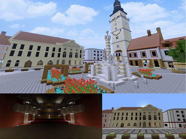 Trojičné námestie, City Arena, kostoly: Študenti vymodelovali Trnavu v počítačovej hre