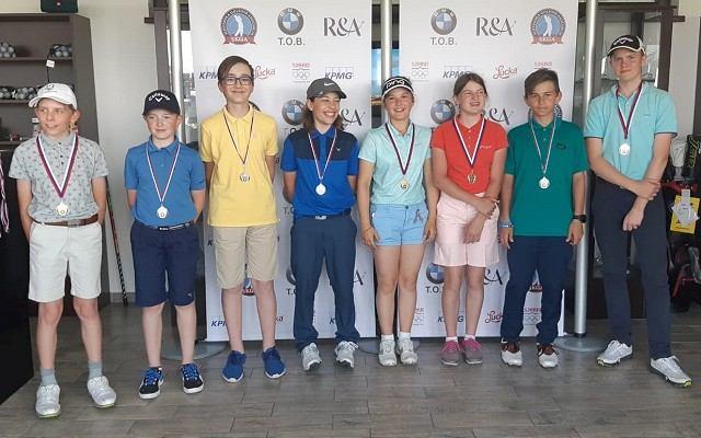 Mladí trnavskí golfisti žnú na slovenskej scéne úspechy
