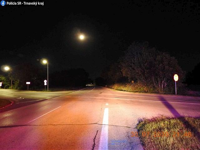 Policajné pátranie: Spôsobil nehodu pri Trakoviciach, utiekol z miesta činu