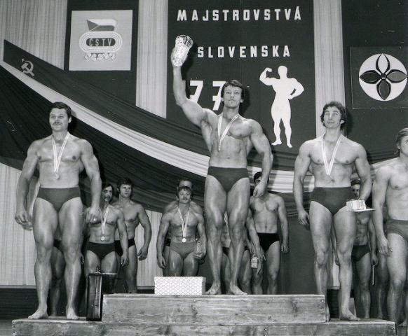 FOTO: Športoví kulturisti trnavskej Fortuny svojho času kraľovali súťažiam