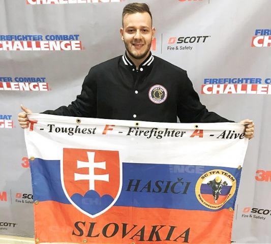 Trstínčan medzi svetovou elitou: Wojatschek po súťaži hasičov v USA patrí medzi najlepších