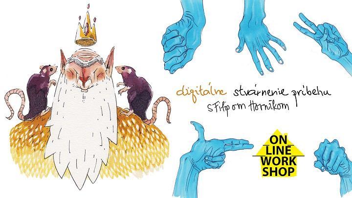 Pozvánka na online workshop: Priučte sa digitálnej ilustrácii